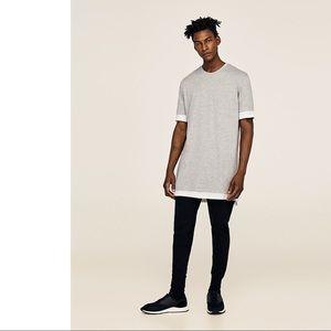 Zara Inevitable Choices Zip Shirt